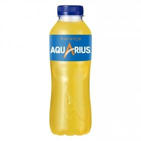 Bebida Isotónica Aquarius sabor naranja botella 50 cl.