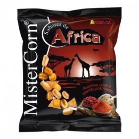 Cocktail de frutos secos sabor África Grefusa-Mister Corn 170 g.