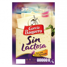 Queso lonchas sin lactosa