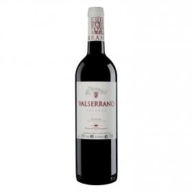 Vino D.O Rioja tinto Crianza Valserrano 75 cl.