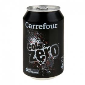Refresco de cola zero