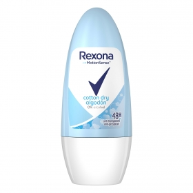 Desodorante roll-on algodón Rexona 50 ml.