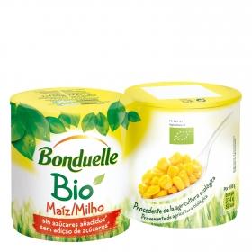 Maiz Bio Dulce ecológico Bonduelle pack de 2 unidades de 140 g.