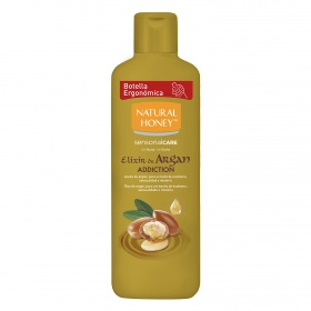 Gel de ducha elixir de argán Natural Honey 650 ml.