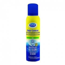 Desodorante para calzado spray Scholl 150 ml.