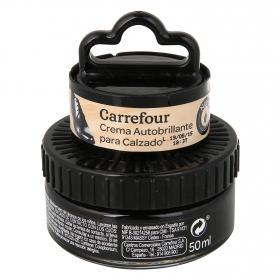 Crema autobrillante c/aplicador negro