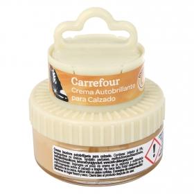 Crema autobrillante c/aplicador incoloro Carrefour 50 ml.