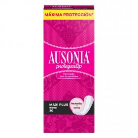 Protegeslip maxi plus Ausonia 20 ud.