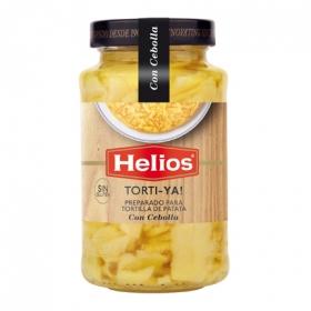 Preparado de tortilla con cebolla sin gluten
