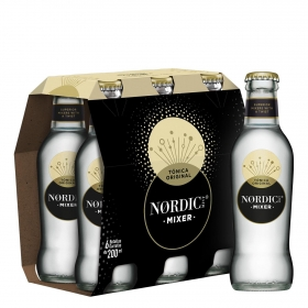 Tónica Nordic Mist pack de 6 botellas de 20 cl.