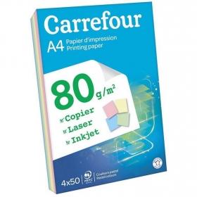 Paquete 200 hojas 80 gr DIN A4 Colores Pastel