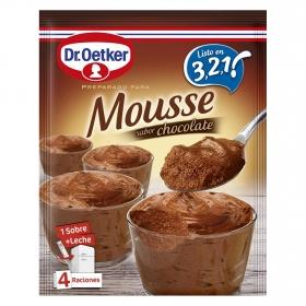 Preparado para mousse sabor chocolate Dr. Oetker 73 g.