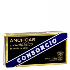 Anchoa en aceite de oliva gourmet serie limitada Consorcio 29 g.