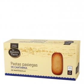 Pastas pasiegas de Cantabria de mantequilla De Nuestra Tierra 200 g.