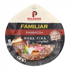 Pizza maxi barbacoa Palacios 580 g.