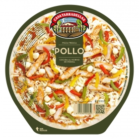 Pizza pollo Casa Tarradellas 410 g.