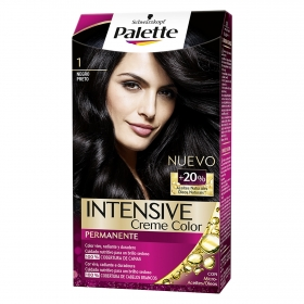 Tinte intense cream 1 color negro