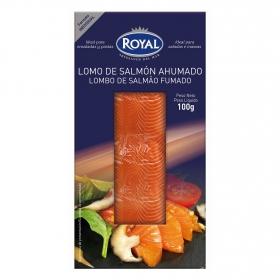 Lomo de salmón ahumado Royal 100g.