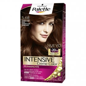 Tinte intense color cream-5.68 castaño claro rojizo