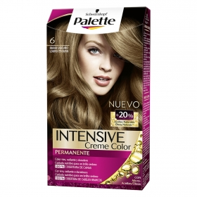 Tinte intense Color Cream 6 Rubio Oscuro Palette 1 ud.