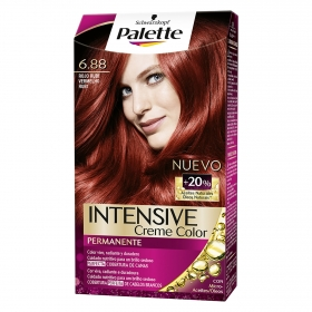 Tinte intense color cream- 6.88 rojo rubí