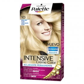 Tinte intense Color Cream10 Rubio muy Claro Palette 1 ud.