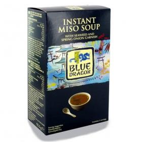 Sopa miso instantánea Blue Dragon 90 g.