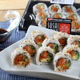 Spicy roll de salmón