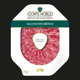Salchichón ibérico en plato Corte Noble Argal 75 g.