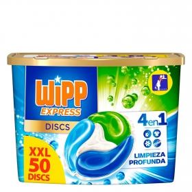 Detergente en cápsulas Wipp Express 50 ud.