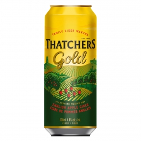 Sidra Tatchers gold lata 50 cl.