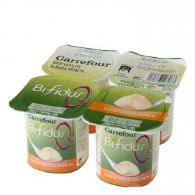 Yogur Bífidus sabor macedonia 0%