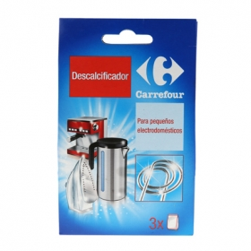 Descalcificador de pequeños electrodomésticos Carrefour 3 ud.