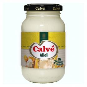 Salsa alioli Calvé tarro 225 ml.