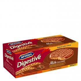 Galleta digestive con chocolate