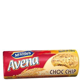 Galletas avena choc chip
