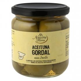 Aceitunas verdes gordal con hueso - De Nuestra Tierra