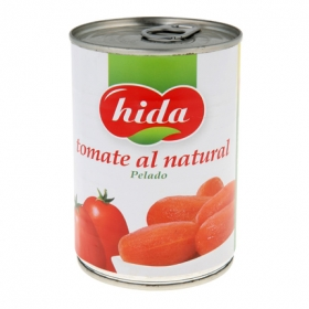 Tomate al natural entero Hida 240 g.