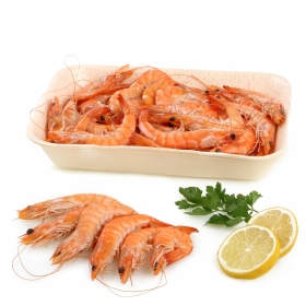 Langostino cocido Carrefour (40/60 ud) 500 g aprox