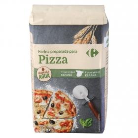 Harina para pizza Carrefour 1 kg.