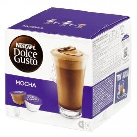 Café mocha en cápsulas Nescafé Dolce Gusto 8 unidades de 27 g.