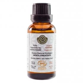 Aceite esencial de menta pimentada ecológico Terre D' Ecologis 30 ml.