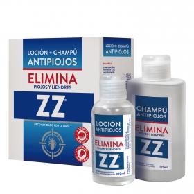 Loción + champú antipiojos ZZ 225 ml.