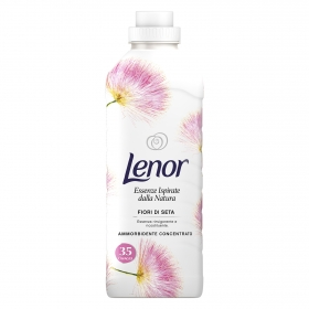 Suavizante concentrado flores de seda Lenor 35 lv.