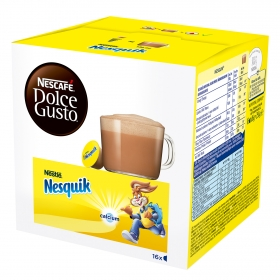Cacao soluble en cápsulas Nescafé Dolce Gusto 16 unidades de 16 g.