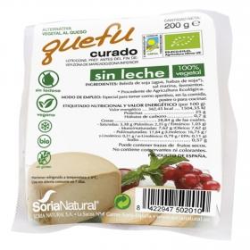 Queso de soja curado ecológico cuña Quefu 200 g.