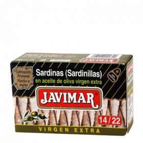 Sardinillas en oliva virgen 14/22 Javimar 88 g.