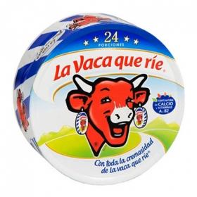 Queso en porciones La Vaca que ríe 375 g.
