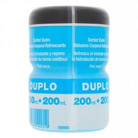 Bálsamo corporal refrescante Neutrogena pack de 2 unidades de 200 ml.