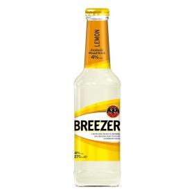 Combinado Bacardí Breezer ron con limón 27,5 cl.